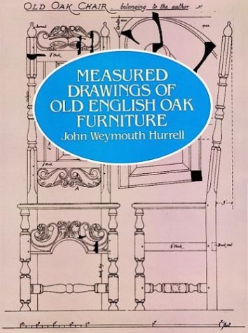 9780486245218: Measured Drawings of Old English Oak Furniture