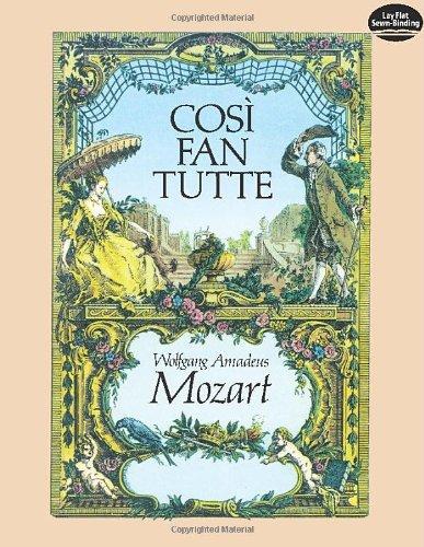 9780486245287: Cosi fan Tutte in Full Score (Dover Music Scores)