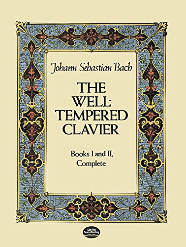9780486245324: The Well-Tempered Clavier: Books I and II, Complete (Dover Music for Piano)