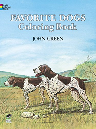 9780486245522: Favorite Dogs Coloring Book