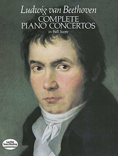 9780486245638: Beethoven: Complete Piano Concertos (Full Score) (Music Series)