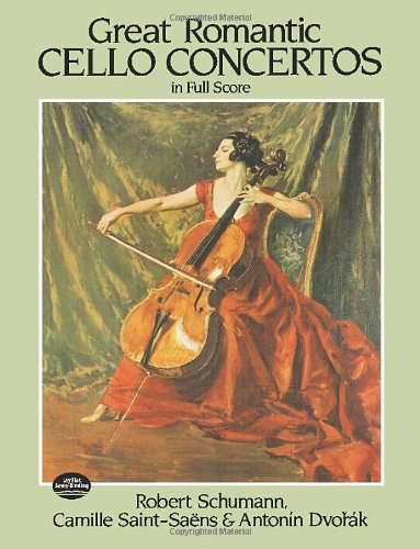 9780486245843: Great Romantic Cello Concertos in Full Score (Dover Music Scores)