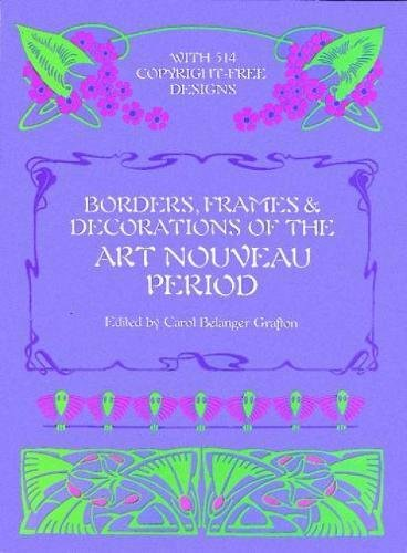 9780486246109: Borders, Frames and Decorations of the Art Nouveau Period (Dover Pictorial Archive)