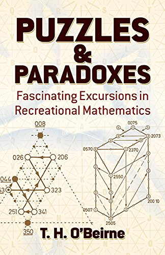9780486246130: Puzzles and Paradoxes: Fascinating Excursions in Recreational Mathematics (Dover Needlework)