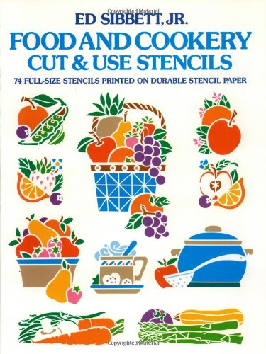 9780486246277: Food & Cookery Cut & Use Stencils (Dover Stencils)