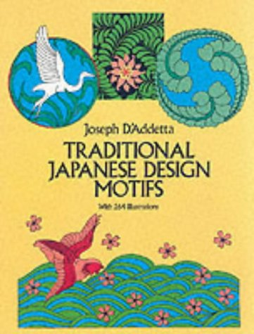 traditional japanese design motifs with 264 illustrations