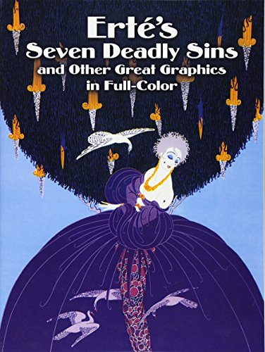 9780486246451: Erté's Seven Deadly Sins and Other Great Graphics in Full Color (Dover Fine Art, History of Art)