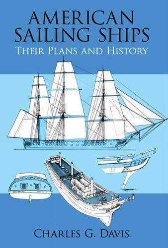 9780486246581: American Sailing Ships: Their Plans and History