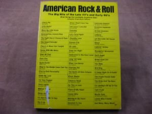 9780486246789: American Rock and Roll: The Big Hits of the Late 50's and Early 60's (Volume 6)