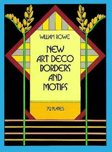 9780486247090: New Art Deco Borders and Motifs