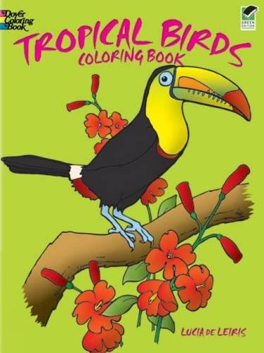 9780486247434: Tropical Birds (Dover Nature Coloring Book)