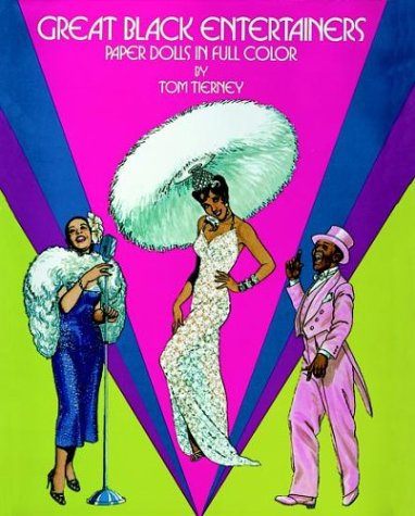 9780486247489: Great Black Entertainers: Paper Dolls in Full Color