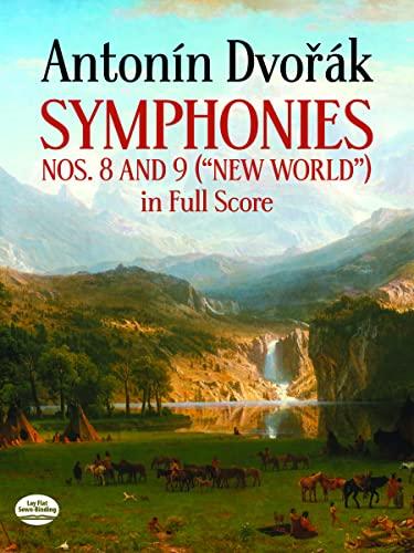9780486247496: Antonin Dvorak Symphonies Nos. 8 and 9, New World, in Full Score