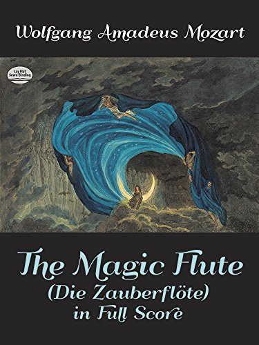 9780486247830: The Magic Flute (Die Zauberflote) in Full Score (Dover Music Scores)
