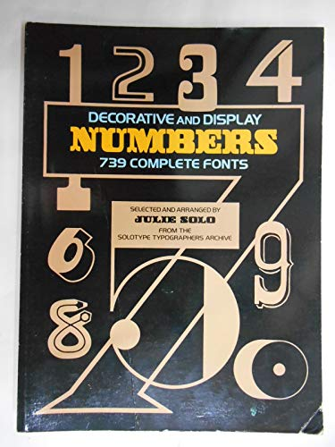 9780486247878: Decorative and Display Numbers: 739 Complete Fonts (Dover Pictorial Archive Series)