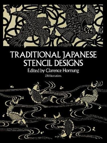 9780486247915: Traditional Japanese Stencil Designs