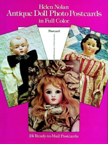 9780486248141: Antique Doll Photo Postcards in Full Color (Card Books)