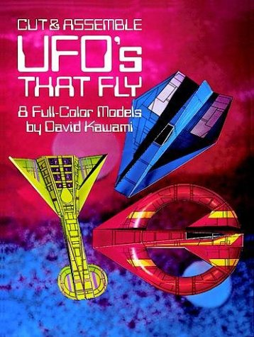 9780486248189: Cut and Assemble UFO's That Fly: 8 Full-Colour Models (Models & Toys)