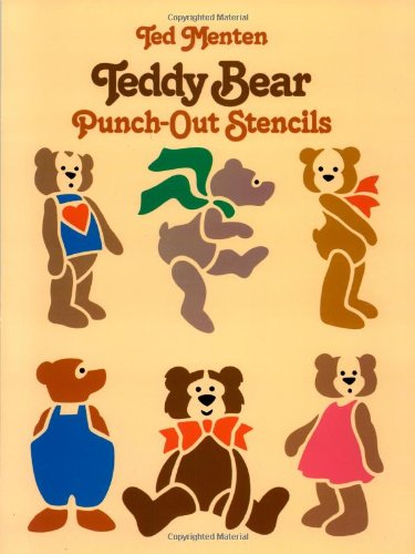 9780486248325: Teddy Bear Punch-Out Stencils (Dover Children's Activity Books)