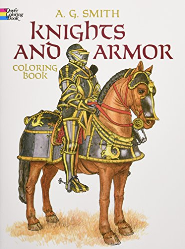 9780486248431: Knights and Armor Coloring Book (Dover Fashion Coloring Book)