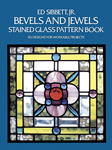 9780486248448: Bevels and Jewels Stained Glass Pattern Book (Dover Stained Glass Instruction)