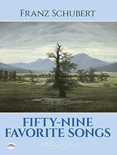 Fifty-nine favorite songs.: Schubert,Franz.