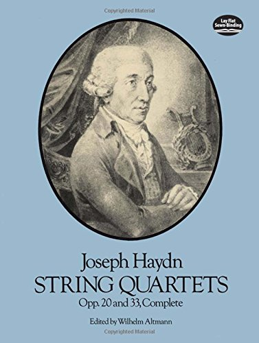 9780486248523: String Quartets, Opp. 20 and 33, Complete (Dover Chamber Music Scores)