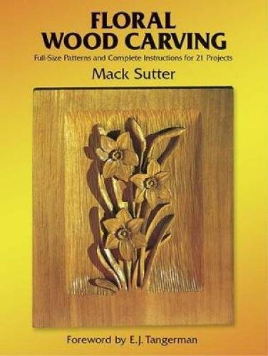 9780486248660: Floral Woodcarving (Dover Woodworking)