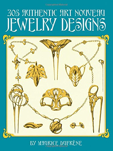 9780486249049: 305 Authentic Art Nouveau Jewelry Designs