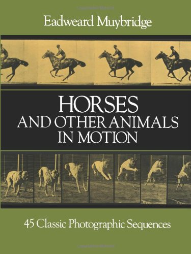 9780486249117: Horses and Other Animals in Motion: 45 Classic Photographic Sequences (Dover Anatomy for Artists)