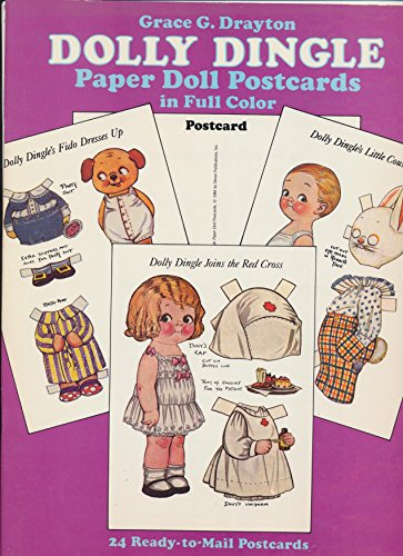 9780486249216: Dolly Dingle Paper Doll Postcards in Full Colour