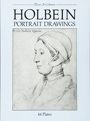 9780486249377: Holbein Portrait Drawings (Dover Fine Art, History of Art)