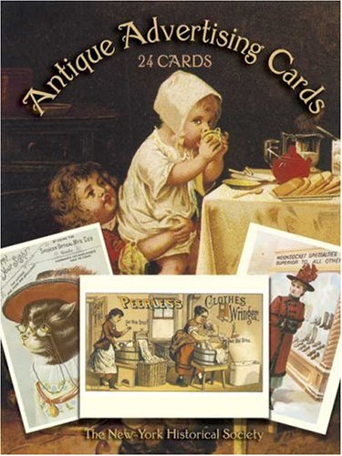 9780486249513: Antique Advertising Postcards in Full Color: 24 Ready-to-Mail Postcards from the Bella C. Landauer Collection (Card Books)