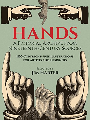 9780486249599: Hands: A Pictoral Archive from Nineteenth-century Sources (Dover Pictorial Archive)