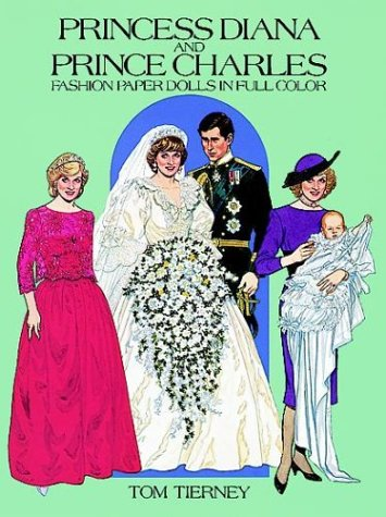 9780486249612: Princess Diana and Prince Charles Fashion Paper Dolls