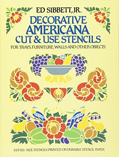 9780486249704: Decorative Americana Cut & Use Stencils (Dover Stencils)