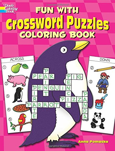9780486249780: Fun with Crossword Puzzles Coloring Book (Dover Children's Activity Books)
