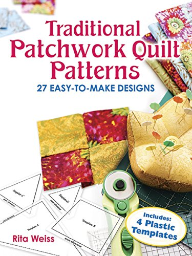 9780486249841: Traditional Patchwork Quilt Patterns With Plastic Templates: Instructions for 27 Easy-To-Make Designs