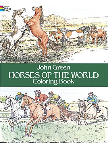 9780486249858: Horses of the World Coloring Book (Dover Nature Coloring Book)