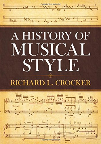 9780486250298: A History of Musical Style (Dover Books on Music)
