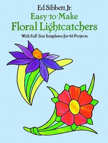9780486250342: Small Floral Stained Glass Designs with 63 Full-Sized Templates