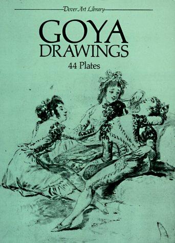 Imagen de archivo de Goya Drawings: 44 Plates by Francisco Goya a la venta por HPB-Diamond