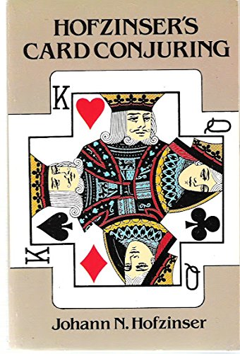 9780486250854: Hofzinser's Card Conjuring (English and German Edition)