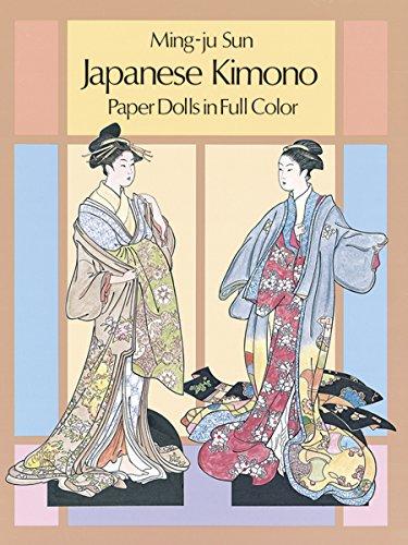 9780486250946: Japanese Kimono Paper Dolls in Full Colour (Dover Paper Dolls)