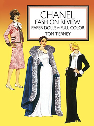9780486251059: Chanel Fashion Review: Paper Dolls in Color