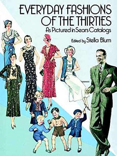 9780486251080: Everyday Fashions of the 30's (Dover Fashion and Costumes)