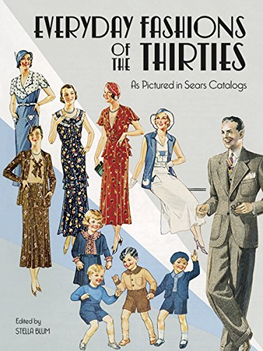 9780486251080: Everyday Fashions of the Thirties As Pictured in Sears Catalogs (Dover Fashion and Costumes)