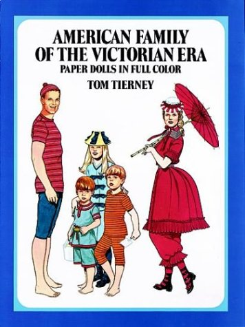 9780486251141: American Family of the Victorian Era Paper Dolls