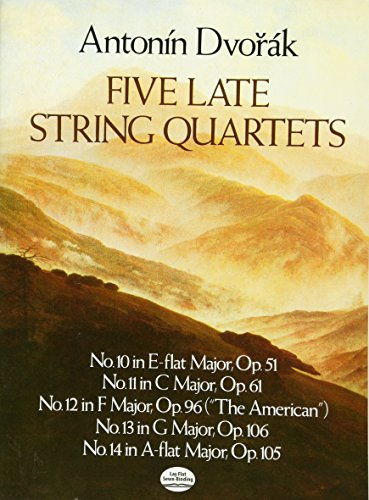 9780486251356: Five Late String Quartets (Dover Chamber Music Scores)