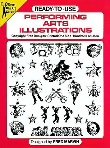 9780486251844: Ready-to-Use Performing Arts Illustrations (Dover Clip Art)